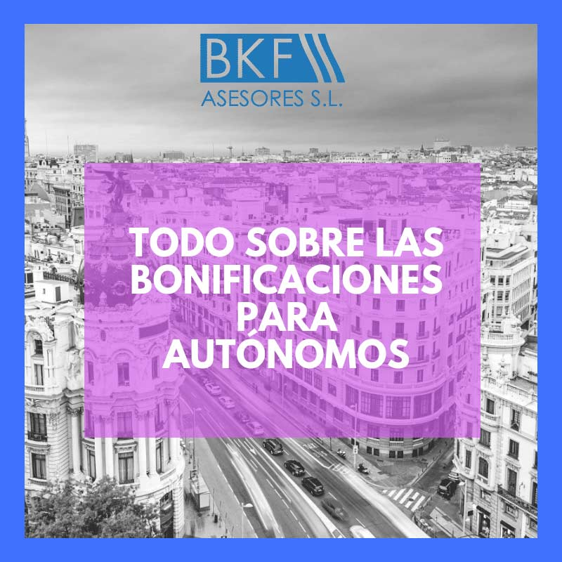 bonificaciones para autonomos