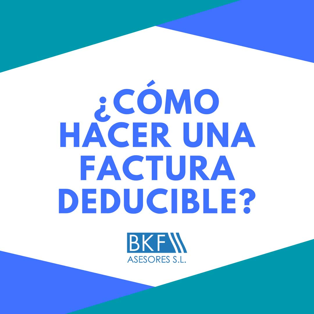 factura de gastos deducibles