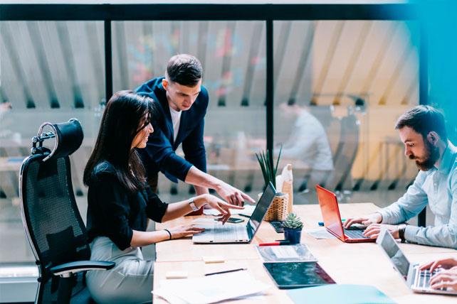 Normas de auxilio a la pequeña y mediana empresa