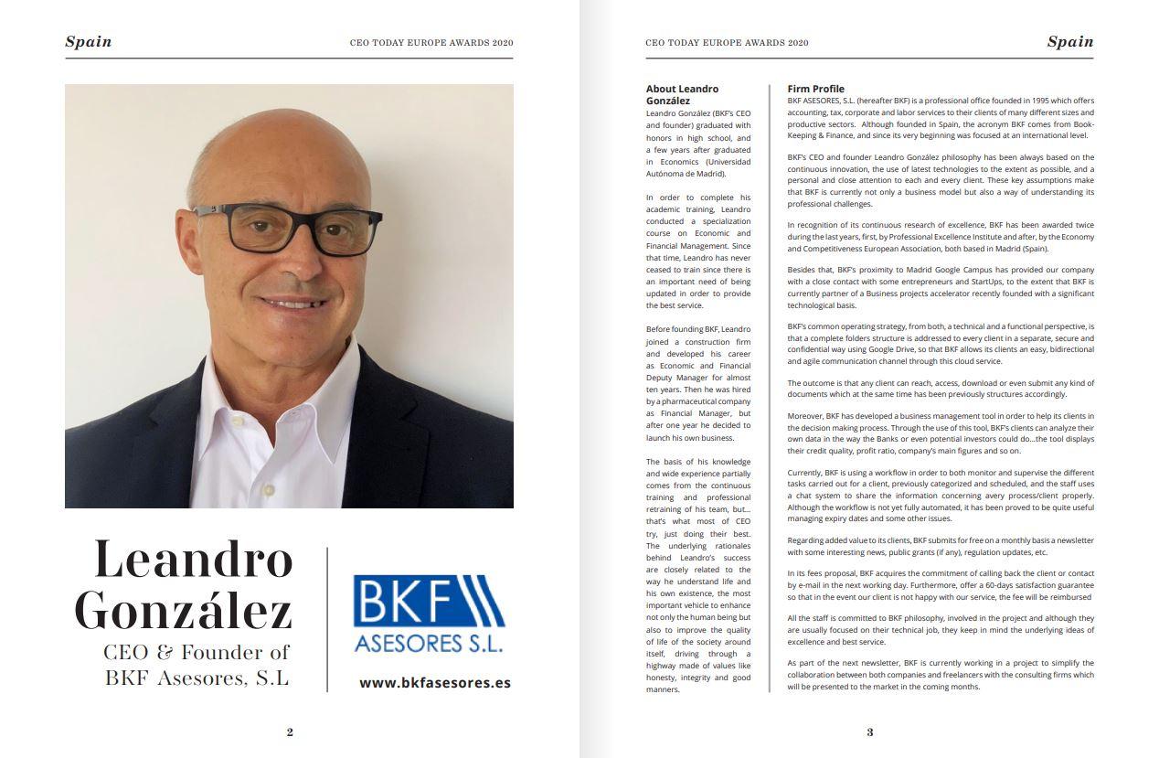 Leandro González - BKF Asesores